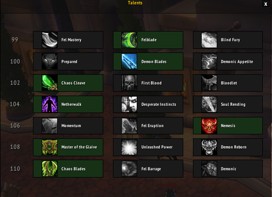 Pve Greg S 7 1 5 Havoc Demon Hunter Raid Guide Wow Freakz Com